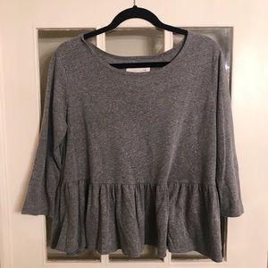 Grey Free People Shirt!